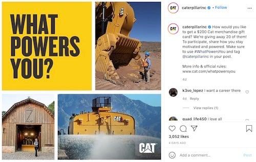 CAT Instagram Post Examples