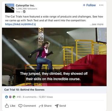 Caterpillar Inc Cat Trials Linkedin
