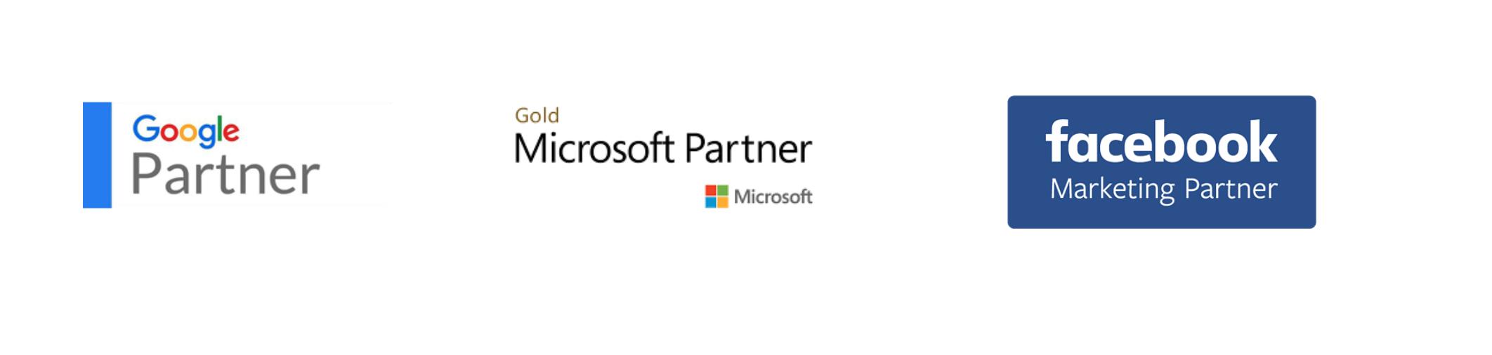 PPC agency partners_google partner_facebook partner_microsoft