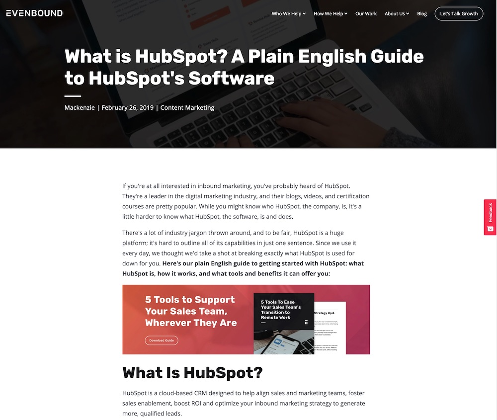 What is HubSpot Image